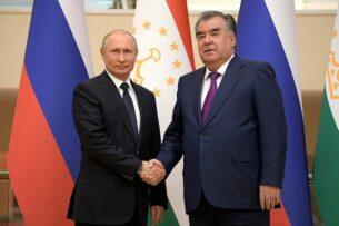 Путин и Рахмон обсудят ситуацию на кыргызско-таджикской границе