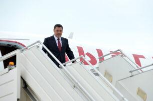 Садыр Жапаров вылетел в Турцию с официальным визитом