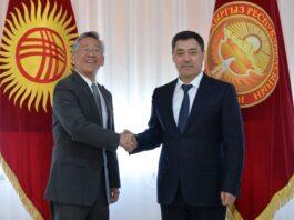 Садыр Жапаров встретился с послом США Дональдом Лу