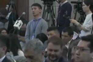 Парня назвали провокатором за вопрос президенту. Он также «провоцировал» Жээнбекова темой Садыра Жапарова