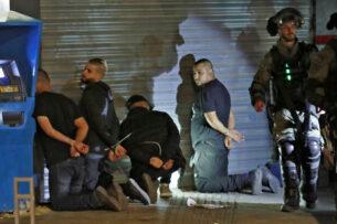 «Объявление войны»: палестинцы в Израиле осуждают массовые аресты