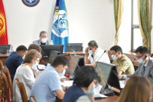 И.о.мэра поручил усилить соблюдение санитарных правил по всему Бишкеку