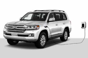 Toyota может сделать Land Cruiser полностью электрическим