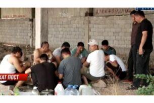 Тридцать фур из Кыргызстана стоят на границе в Жамбылской области уже вторую неделю. Перевозимый товар никак не могут проверить налоговики Казахстана