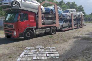 ГКНБ: Выявлена схема ввоза контрабандных автомашин из Абхазии по поддельным документам Армении