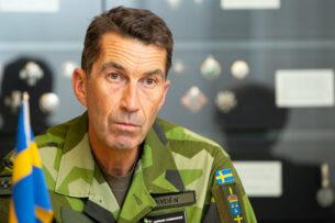 Главнокомандующий вооруженными силами Швеции заявил о возможном нападении России