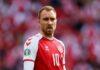 Кристиан Эриксен признан УЕФА звездой матча Дания — Финляндия