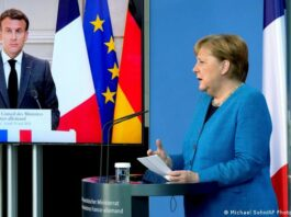 Меркель и Макрон призвали Данию и США объяснить шпионский скандал