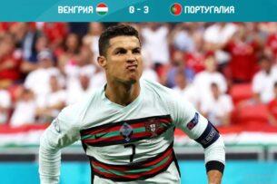 ЕВРО-2020: Судьбу матча Франция-Германия решил автогол, португальцы выиграли у венгров. Роналду лучший бомбардир