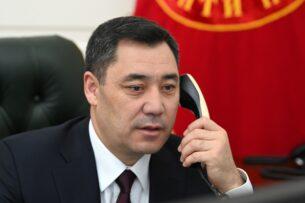 Садыр Жапаров пригласил короля Саудовской Аравии посетить с официальным визитом Кыргызстан
