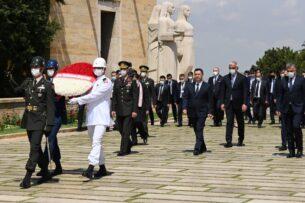 Садыр Жапаров находится в Анкаре. Посетил мемориальный комплекс Аныткабир