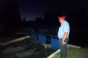 Дефицит поливной воды: Сотрудники МВД Кыргызстана усилили контроль на водных постах