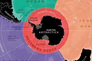 National Geographic официально признало, что на Земле 5 океанов