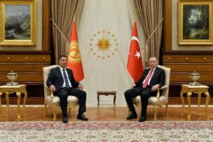 Жапаров и Эрдоган обсудили вопросы сотрудничества между Кыргызстаном и Турцией