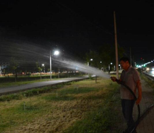 Из-за дефицита поливной воды страдает и Бишкек