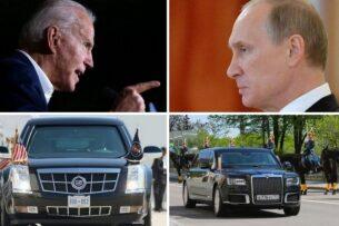 «Зверь» Байдена и «Аурус» Путина: эксперты сравнили лимузины президентов