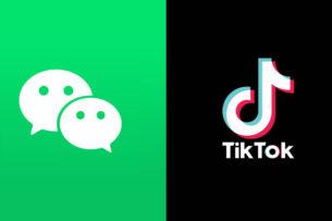 США отменили ограничения Трампа против китайских TikTok и WeChat