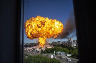 В Новосибирске взорвалась АЗС. Более 25 пострадавших