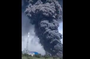 В Китае на заводе по производству поликремния произошел мощный взрыв