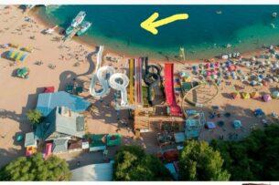 """Жуткая смерть юноши на пляже пансионата """"Золотые Пески"""". Кому принадлежит аквапарк?"""