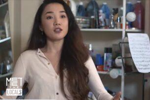 Euronews: Акмо — кыргызская певица и художница в Дубае