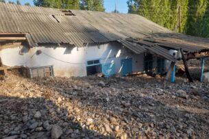 Из-за селевых потоков и наводнений на юге Кыргызстана погибли 6-летняя девочка и подросток