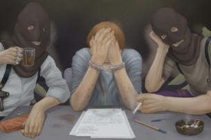 Женщина обвинила сотрудника МВД Кыргызстана в избиении, издевательствах и домогательствах. Жуткий рассказ о пытках