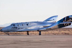 Космолет Virgin Galactic с миллиардером Брэнсоном успешно завершил полет в космос