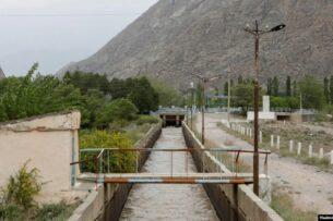 Таджикистан установил камеры возле водозабора «Головной», который находится на кыргызско-таджикской границе