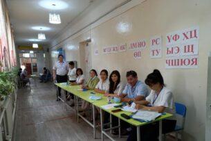 В городах Бишкек, Ош и Токмок проходят повторные выборы депутатов в кенеши