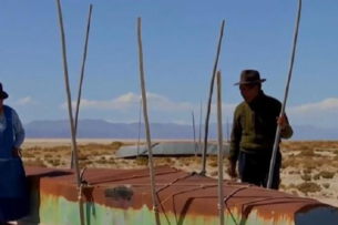 В Боливии высохло второе по величине озеро