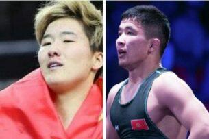 Токио-2020: Кыргызстанские борцы Айпери Медет кызы и Жоломан Шаршенбеков вышли в четвертьфинал