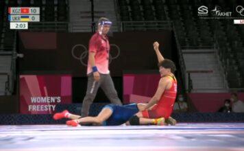 Токио-2020: Айсулуу Тыныбекова вышла в финал Олимпийских игр