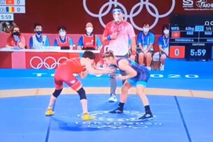 Токио-2020: Айсулуу Тыныбекова вышла в полуфинал Олимпиады