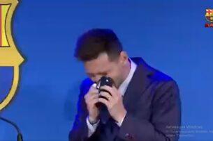 Месси разрыдался на прощальной пресс-конференции. «Барселона» и гениальный футболист попрощались друг с другом