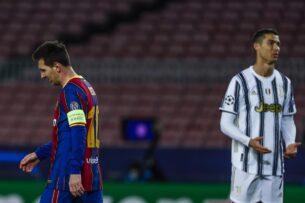 Месси и Роналду не попали в число кандидатов на приз игроку года
