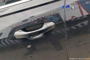 Обстреляли автомобиль помощника президента Украины