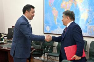 Алмамбет Шыкмаматов освобожден от должности министра инвестиций