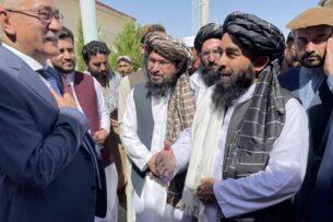 Узбекистан передал Талибану гуманитарную помощь