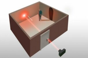 Ученые научились смотреть сквозь стены с помощью лазера