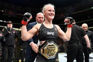 Валентина Шевченко нокаутировала Мёрфи на UFC 266 и в шестой раз защитила пояс