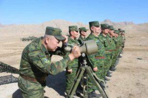 Пограничная служба Кыргызстана проводит оперативные сборы