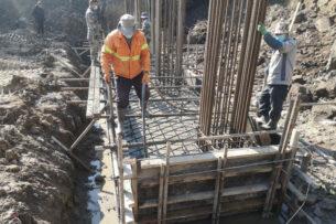 В Бишкеке строят три моста