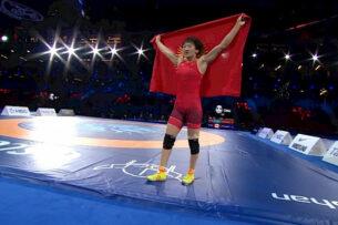 Айсулуу Тыныбекова стала двукратной чемпионкой мира