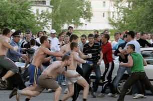 У истоков «футбольного хулиганства»