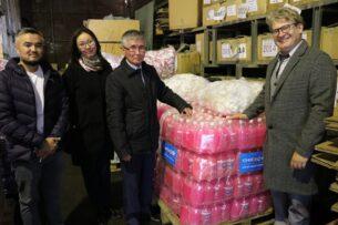 ЮНИСЕФ передал гигиенические средства для 400 школ Кыргызстана