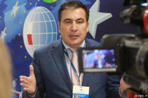 Саакашвили написал Зеленскому, что он является «личным узником Путина»
