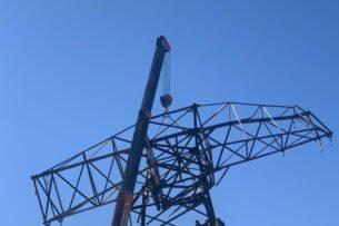 Энергетики устранили аварию на ЛЭП «Урумбаш-Жетиген» на перевале Сары-Кыр