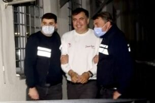 Михаил Саакашвили задержан и отправлен в тюрьму в Грузии, он объявил голодовку