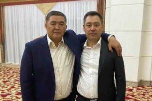 Садыр Жапаров опроверг слухи об его конфликте с Камчыбеком Ташиевым